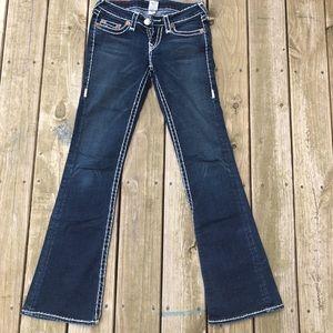 True Religion Bobby super T flare denim jeans 29